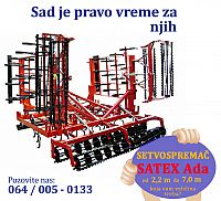 Setvospremač Satex od 900 € do 5450 €