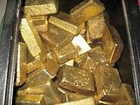 Seller of Gold Powder Bars and Diamond